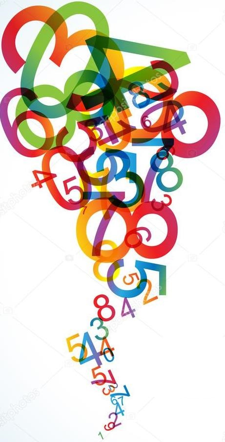 depositphotos 6215450 stock illustration abstract background with numbers